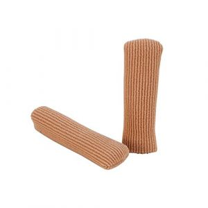 Protège-orteils - Tube nervuré en gel Doigts hydratants Protecteur d'orteils pour les doigts endoloris Taille L Mignon Soins des pieds (Dewinshop, neuf)