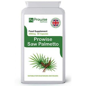 Prowise Saw Palmetto Extract 2500mg 90 Capsules - UK Manufactured (PROWISE HEALTHCARE, neuf)
