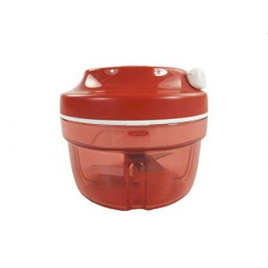 Tupperware P 20865 Turbo-Chef D158 Hachoir à oignons - Rouge (FABULOUS PRODUCTS, neuf)