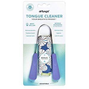 Dr Tung's Gratte-Langue - Couleurs aléatoires (Daily Supply, neuf)