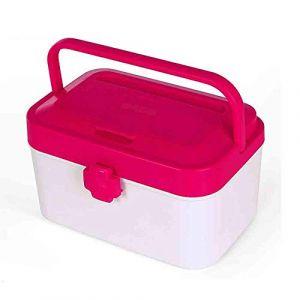Boîte à pilules trousse de premiers soins boîte à médicaments boîte à médicaments boîte à médicaments bébé enfants boîte à médicaments grande capacité boîte de rangement pour médica (GQP Boutiques, neuf)