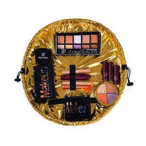 Or ou Argent Trousse Sac Trousse Maquillage Étanche Voyage Make Up sac à main Wash Bag (Yungongchang, neuf)