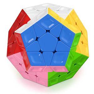 Roxenda Megaminx Speed Cube, Pentagonal Dodécaèdre Profession Cube (HURDILEN, neuf)