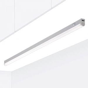 Rampe cuisine Réglette LED Raccordable avec interrupteur RIGA Blanc chaud 3000K 90cm Meuble sous Cuisine Atelier Garage Cave Grenier (ETAPLEX GmbH, neuf)