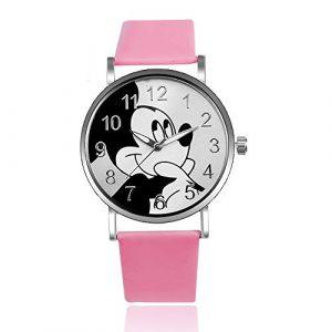 HWCOO Belle Montre Bracelet Montre Mickey Mouse à la Mode pour Femmes (Color : 4) (HWCOO Store, neuf)