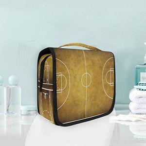 Trousse de maquillage Trousse de basket-ball vintage (XiangHefu, neuf)