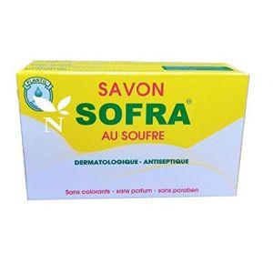 SAVON AU SOUFRE - Peaux acnéiques et grasses- 90gr (SHOPIZY ONLINE, neuf)