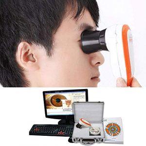 Emperor of Gadgets 5.0 MP haute résolution CCD USB Iriscope - Camera Eye Iriscope avec 30X Iris Lens et logiciel d'analyse (Golden Panda EU, neuf)