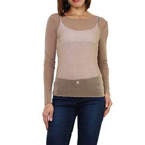 85d72e856302 T shirt resille - Comparer 375 offres