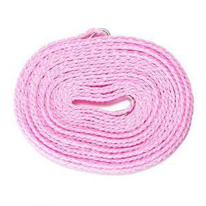MZP Slip séchage corde à linge est fils corde portable corde à linge Voyage en plein air polyvalent corde à linge coupe-vent (ZhongPing Miao, neuf)