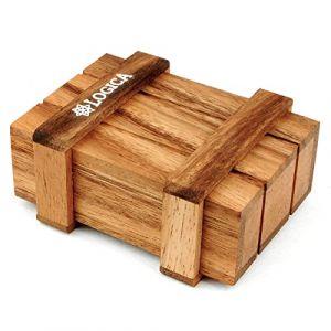 Logica Giochi art. COFFRET DE PANDORE - boîte secrète - difficultè 4/5 EXTRÊME - Casse-tête en bois (LOGICA JEUX, neuf)