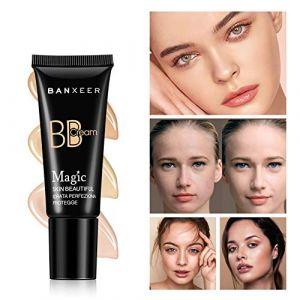 Perfect Cover BB Crème, KISSION Magic Beauty BB Cream, Hydratant, Peaux uniformes, Couleur de la peau, Contrôle de l'huile, BB Cream (Lucktar, neuf)