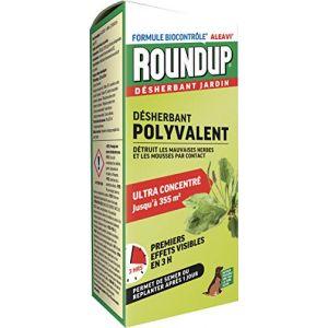 Roundup Désherbant Polyvalent Action Rapide Concentré, 800ml (Toututile, neuf)