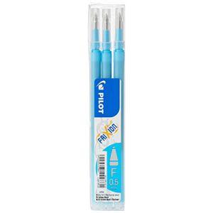 Pilot Stylo 0.5mm Frixion Recharge pour Frixion Stylo à bille effaçable - Turquoise (Lot de 3) (BUSINESS SQUARE, neuf)