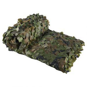 LOOGU - Filet de camouflage pour ombrage de jardin - filet d'ombrage pour la chasse militaire, tir, pêche, cachette, camping, décoration de fête de Noël, Bois, 19.7x19.7ft(6x6m) (KSS Sports, neuf)