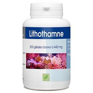 Lithotame (Lithothamne) 200 gélules 440 mg (123PLANTES, neuf)