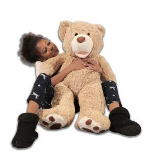 Banabear Lerosier Nounours Peluche géants de 100 à 340 cm !! Teddy Bear Ourson Ours Immense (100 cm) (lerosier1234, neuf)