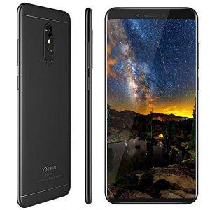 Vernee M6 (2019) 4G Téléphone Portable Débloqué,Smartphone Débloqué sans Forfait 64 Go Stockage avec 5.7 '',16MP+13MP,MTK6750C Octa-Core 1.5GHz,3300mAh,Android 7.0,Empreinte Digitale,OTG (Noir) (Vernee Direct, neuf)