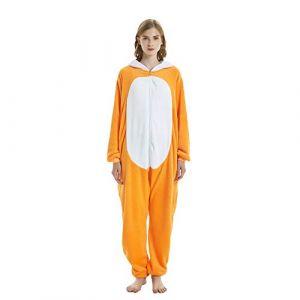 KiKa Monkey Licorne Pyjama Adulte Unisexe Animaux Cosplay Costume Halloween Noel Party costume (M, Dinosaure vert) (Bunny_Deco_Art, neuf)