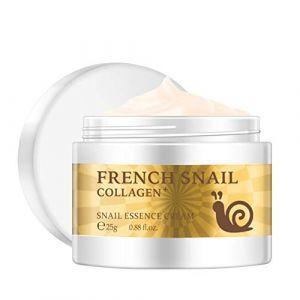 Escargot Crème pour le Visage Hyaluronique Acide Hydratant Anti-rides Anti-âge Collagène Réparation Crème (A) (accessygg, neuf)