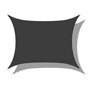Lanbent Voile d'ombrage Impermeable Rectangulaire, 95% Anti UV Abri Voiture de Pergola pour Patio Extérieur, Jardin, Serre, Terrasse et Camping Toile d'ombrage (BIAO Home, neuf)