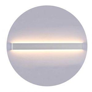 K-Bright Applique murale à LED, lampe à miroir montante et descendante, 83CM Applique murale blanche, IP44,2700K-3000K Blanc chaud (Oppsun-EU, neuf)