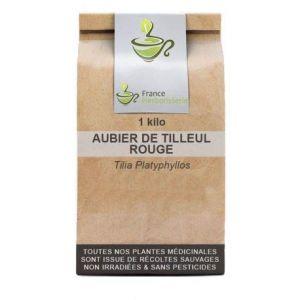 Tisane Aubier de Tilleul rouge CT 1 KILO Tilia platyphyllos (France Herboristerie, neuf)
