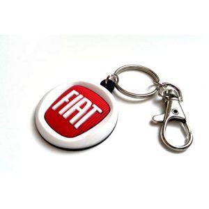 Porte-clés Fiat (Freeco.Keyrings, neuf)