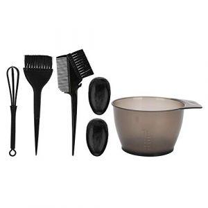 Brosse de coloration des cheveux, outil de coiffure anti-dérapant pour la teinture des cheveux, brosse de coloration des cheveux(1#) (Canyitar, neuf)