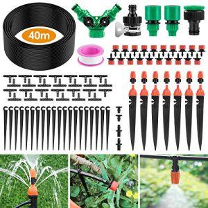 Ehomfy Arrosage Automatique Goutte a Goutte Kit Irrigation Micro Système d'Arrosage Automatique pour Jardin Pelouse Plante Paysage Potager Serre Terrasse Plate-Bande (Ehomfy Direct, neuf)