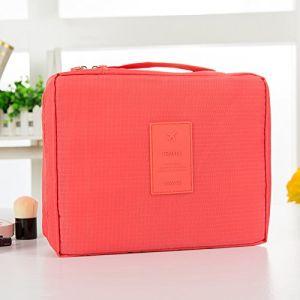 MZP Corée sac de lavage Kit de Voyage portable dame Voyage poche imperméable Voyage d'affaires Produits cosmétiques , watermelon red (ZhongPing Miao, neuf)