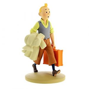 Dekori 42217 Figurine de collection Tintin en route Moulinsart (2018) (videosphere, neuf)