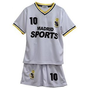 Enfants - Ensemble maillot & short de football été - 36 (6-7 ans), Real Madrid (aelstores, neuf)