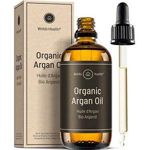 Huile dÂ'Argan du Maroc-Bio 100% Pure - Certifiée biologique pressé à froid pour le visage et la peau anti-âge anti-rides et riche en antioxydants (Woldo Group, neuf)