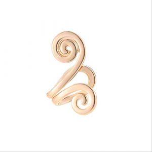 Boucles d'oreilles vacances élégant Totem or alliage d'argent Clip boucle d'oreille Punk Non Piercing Tragus boucle d'oreille manchette d'oreille Brincosor (Graceguoer, neuf)