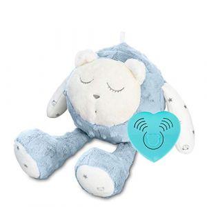Jouet pour bébé MyHummy SZUMISIE - Jouet de nuit apaisant avec capteur de pleurs et système non-stop Bleu (Uniquedealls, neuf)