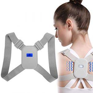 Correcteur de dos, correction de posture Correcteur de posture intelligent Support d'épaulement réglable (Greeflu, neuf)