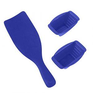 Kit de coloration et de bols pour la coloration des cheveux Ensemble de coloration des cheveux avec 2 bols Faits saillants Kit de coiffure Paddle Salon (rosmii, neuf)