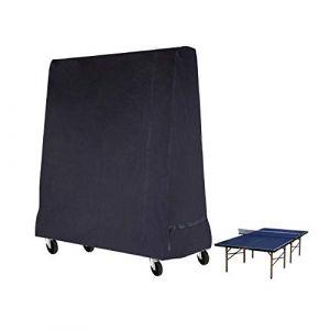 Fittolly Table de Tennis de Table Housse Imperméable Couverture pour Table de ping Pong 165 x 70 x 185 cm Noir (Fittolly, neuf)