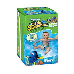 HUGGIES Little Swimmers T3-4 X12 (theSwimmingShop, neuf)