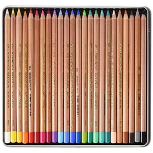 Koh-I-Noor Crayons d'Artiste Crayons pastels doux  (Set de 24) (Foxberry Store, neuf)
