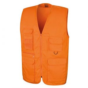 Result Safari - Gilet - Homme (XL) (Orange) (Gulliver on Tour, neuf)