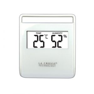 La Crosse Technology - WT134-WHI - Station Thermo/Hygro Blanc (AS-Discount, neuf)