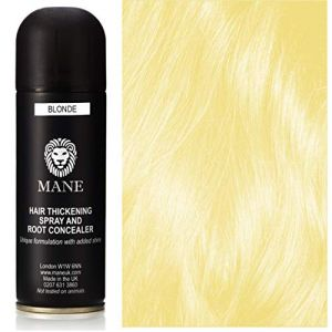 Mane Spray epaississant pour cheveux fins - couleur Blond (Mane Hair Thickening Products, neuf)