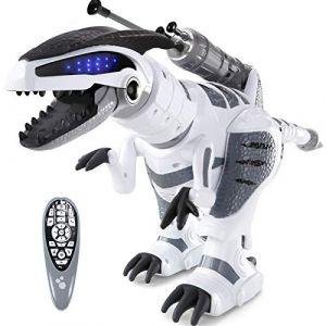 ANTAPRCIS RC Robot de Dinosaure Télécommandé - Intelligent Programmable Robot, Jouet Cadeau pour Enfant, Garçon et Fille (GUANMA EU, neuf)
