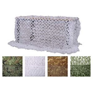 Chiglia Filet de Camouflage 1.5x4m White Couverture Camouflage Filet Net (Wanli Zhao, neuf)
