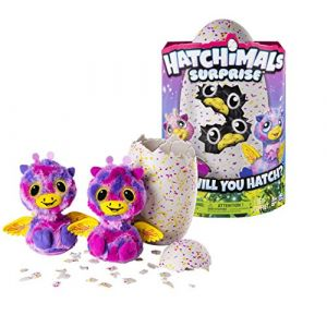Hatchimals Surprise - 6037097 - Jumeaux -  Rose/Jaune (Quality First - Loisirs & Culture, neuf)