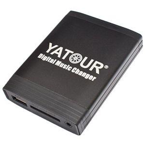 Yatour Adaptateur USB SD AUX MP3 pour autoradio RD3, RM2, RB3 de Citroen C3, C5, C8, Berlingo, Xsara Picasso / Peugeot 106, 206, 307, 406, 407, 407 SW, 607, 806, 807 (Electronicx, neuf)