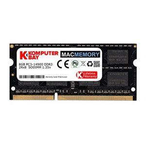 Komputerbay MACMEMORY 8GB Dual Channel Kit 1 x 8GB 204pin 1.35v DDR3-1867 So-DIMM 1867/14900S (1867MHz, CL13) pour Apple iMac 275K (Fin 2015) (KOMPUTERBAY-FR, neuf)