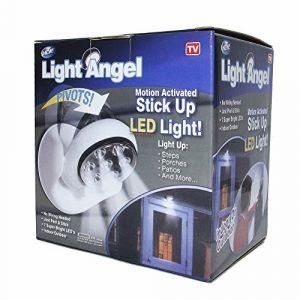 Projecteur spot lampe avec détecteur de mouvement 7LED Lumière blanche Intérieur Extérieur (Simplisim, neuf)